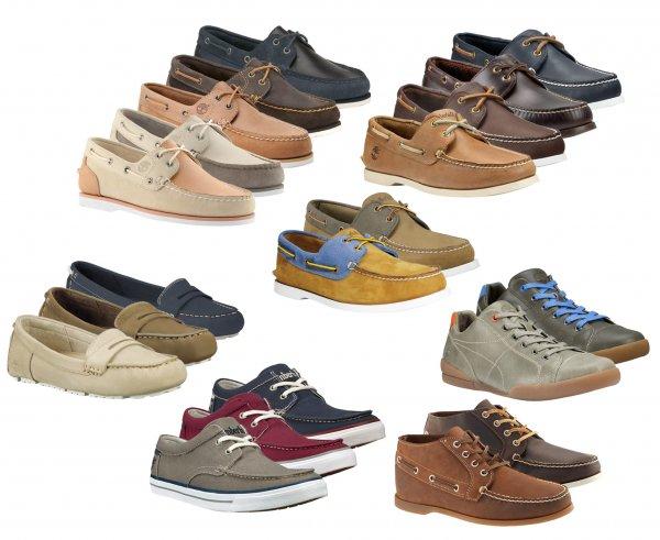 Timberland Herren u. Damen Lederschuhe Bootschuhe Sneaker 2-Eye 4-Eye Canvas
