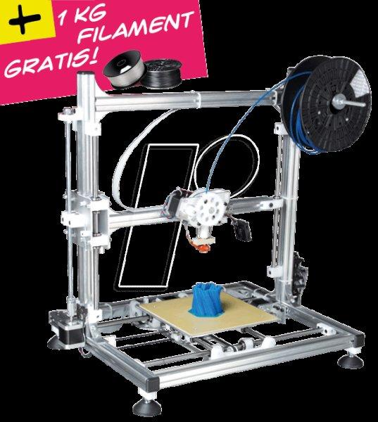 3D Drucker Bausatz bei reichelt.de drastisch reduziert, jetzt nur noch 499 € bei Abholung