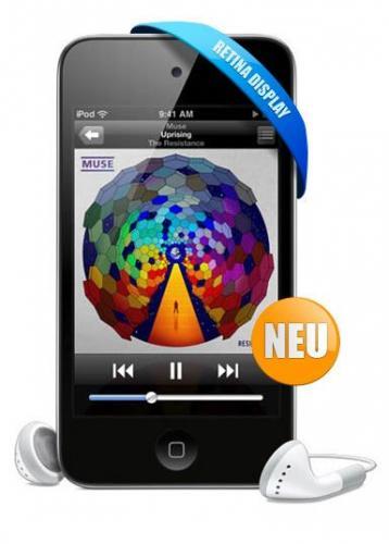 Apple iPod Touch 4G 32GB für 229€ incl.Versand