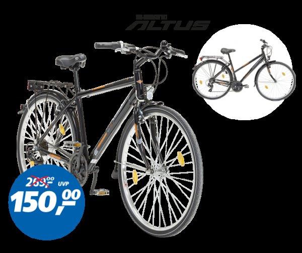 Zündapp Trekkingrad für Damen und Herren 28er nur am Fr. 30.05. bei REAL für 150 Euro