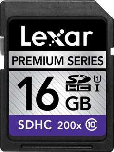 [amazon.de] Lexar SDHC 16GB Class 10 UHS-I 6,83€ inkl. Versand (Prime)