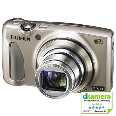 Fujifilm FinePix F900EXR für 163,49€ - 16 Megapixel Kamera mit 20-fach opt. Zoom + RAW
