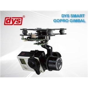DYS 3-Axis Smart Brushless Kamera Gimbal für Gopro 3 nur 139,99 EUR und versanskostenfrei