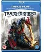 [wowHD] Transformers 3 - Dark of the Moon Triple Play (Blu-Ray+DVD+Digital Copy) für 3,68€!