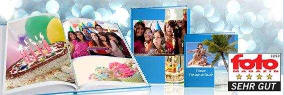 Die PixelNet Fotobuch-Seiten-Flat - Hardcover 20x28 für 17,95€