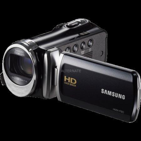 """Samsung Camcorder 5 MP, Optischer Zoom 52x, SDXC """"HMX-F90"""" (schwarz) 109,90 €"""