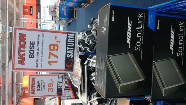 Saturn Norderstedt - Bose Soundlink II - Leder/schwarz 179 Euronen!