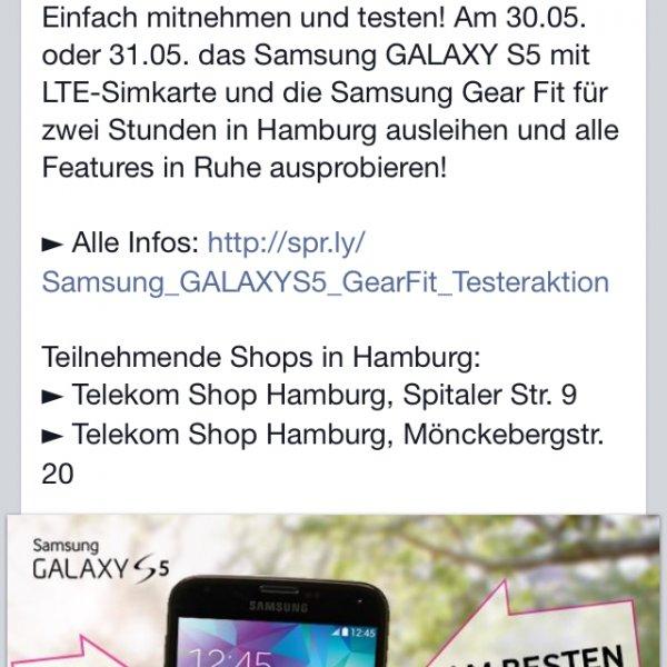 [Hamburg] (Ausleihen) S Galaxy S5