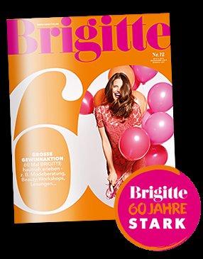 Gratis/Kostenlos: Eine Ausgabe Brigitte (60 Jahre BRIGITTE)