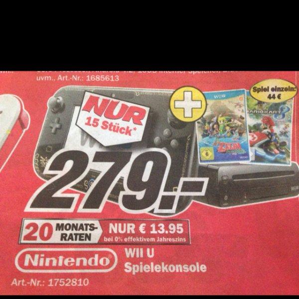 [lokal] MM Homburg am verkaufsoffenen Sonntag, WiiU Premium + Zelda + Mario Kart 8