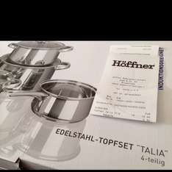 [lokal?] Chemnitz Höffner - 4-teiliges Edelstahl Topfset