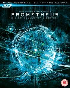 [zavvi.com] Prometheus 3D - Collector's Edition (Includes 2D Blu-Ray and Digital Copy) Blu-ray 12,59€