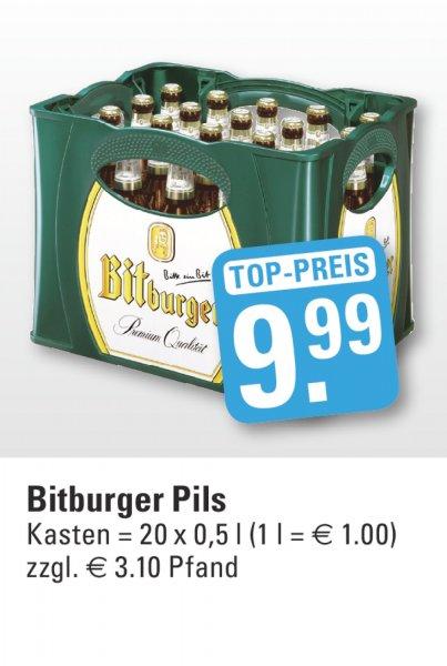 bonn, edeka vogl: bitburger pils, 20x 0,5: 9,99