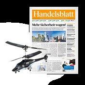 3 Monate Handelsblatt + Minihelikopter für 999 Webmiles