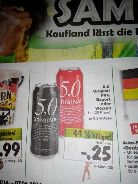 Kaufland - 5,0 Bier (lokal)