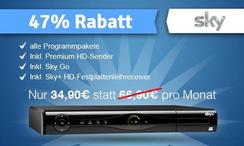 Sky komplett gmx für 34,90 Euro funktioniert noch