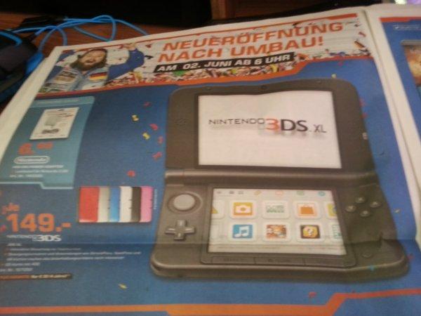 [Saturn Moers][Lokal] Nintendo 3ds XL 149€   Mario Kart 7 20€