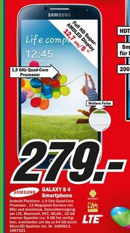 [MM Hamburg-Altona und Wandsbek] Samsung Galaxys S4 uvm.