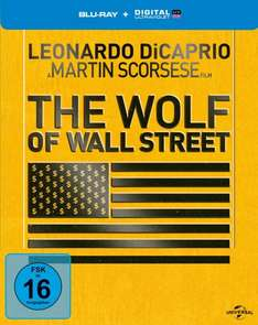 The Wolf of Wall Street - Steelbook [Blu-ray] [Limited Edition] für 17,99 @ Amazon