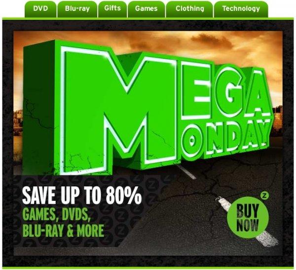 [zavvi] Mega Monday - Spare bis zu 80% bei Games, Blu-ray & mehr (Wolfenstein OE PS4 49,19€ - Watch Dogs SE PS3 45,45€ - Mario Kart 8 WiiU 42,98€) 0€ Versandkosten + 3% Qipu