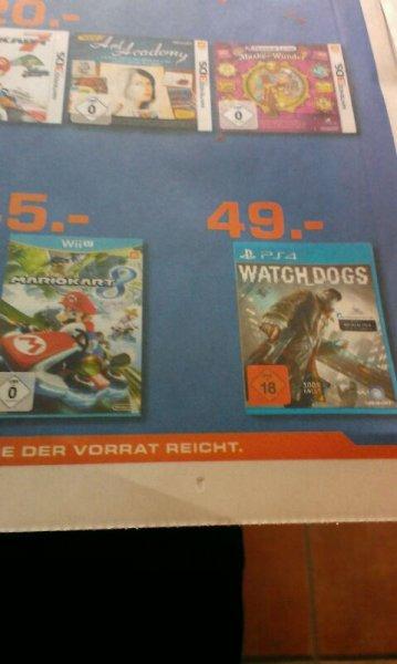 "[Lokal]Watch Dogs PS4 bei Saturn ""Neu-Eröffnung"" in Moers"