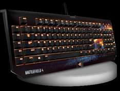 RAZER BlackWidow Ultimate im Battlefield Design