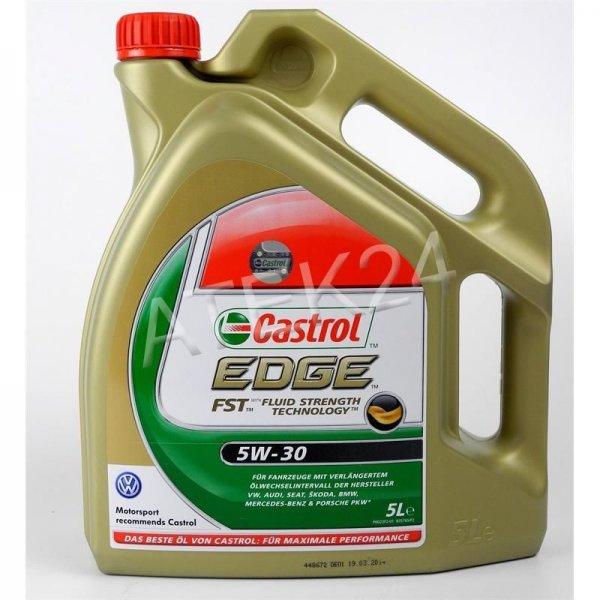 Castrol Edge FST 5W30 Motoröl  5 Liter [ebay]