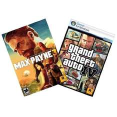 [Steam] Max Payne 3 und Grand Theft Auto IV Bundle @ Amazon.com