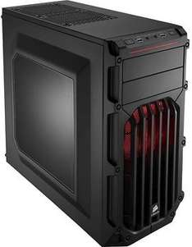 Corsair CC-9011052-WW Mid-Tower Gaming PC-Gehäuse in 5 Varianten (ATX/micro-ATX/mini-ITX, 2x 5,25 Zoll externe, 3x 3,5 Zoll interne, 2x USB 3.0)  für 49,90€  @ ZackZack