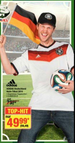 [METRO OFFLINE] WM 2014 DFB Deutschland Home Heim Trikot 49,99 (ab 5.6.)