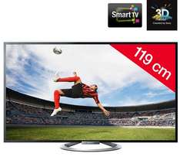 SONY KDL-47W805A - LED-Fernseher 3D Smart TV @pixmania.de