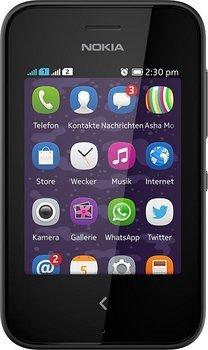 Nokia Asha 230 black mit Flex Basic