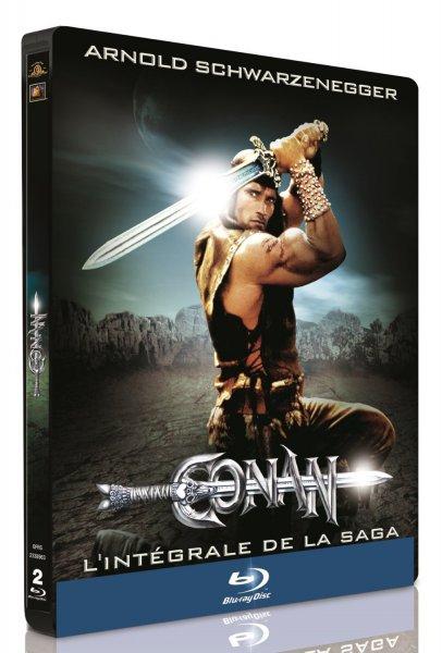 Conan der Barbar + Conan der Zerstörer (Steelbook) [Blu-ray] für 14,99€ @Amazon.fr