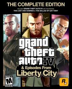 Grand Theft Auto IV: Complete [Steam] für 4,41€ @Amazon.com