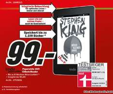 MediaMarkt Kindle Paperwhite 2013 Wifi E-Book-Reader 99 € Online und Offline