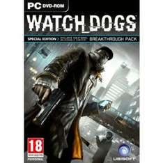 Watch Dogs (Uplay) inkl. Day 1 DLC für 26,72€ @CD Keys