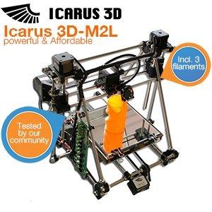 Icarus 3D - M2L - 3D Drucker für 604,95€ @ iBood