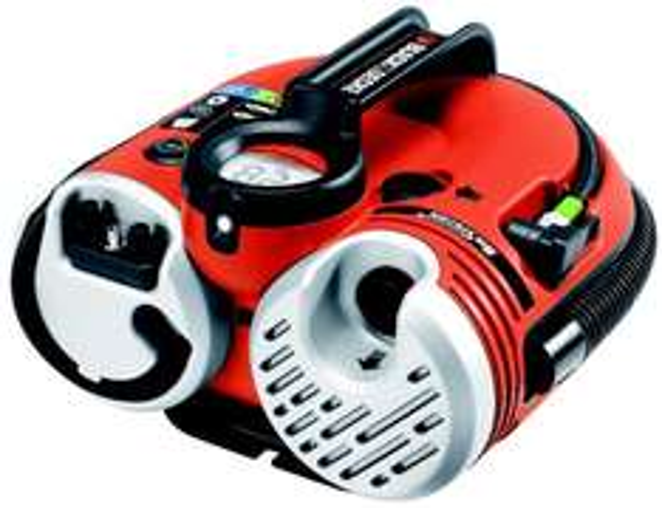 Black&Decker ASI500-QW Akku-Luftpumpe 12V- / 230V Anschluss (11 Bar) für 49€ frei Haus @Comtech