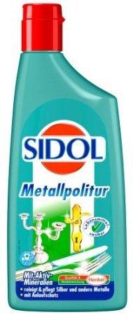 Sidol Metallpolitur im 6er Pack a 250ml für 13,99€ via Amazon Blitzangebot