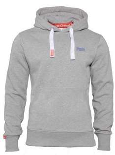 Superdry Hoodie Orange Label - Grau