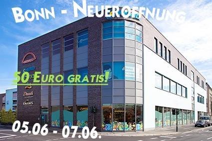 [Lokal Bonn] Conrad Neueröffnung 05.06. - 07.06. | 50 Euro gratis!