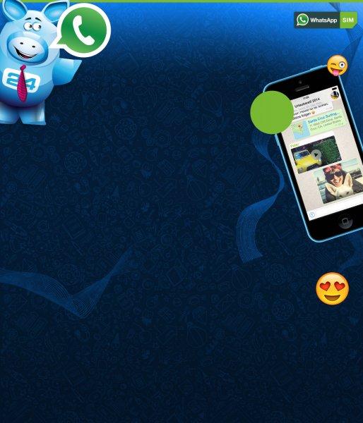 Daten-Flatrate für Whatsapp nahezu kostenlos (WhatsApp-SIM von E-Plus)