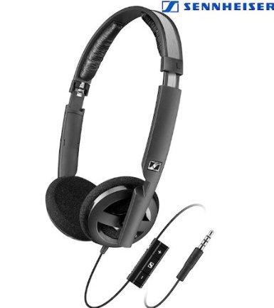 Sennheiser PX100 IIi - kleiner, leichter offener Kopfhörer mit Mikrofon
