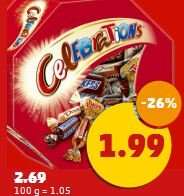 [Penny] Celebrations für 1,99 Euro