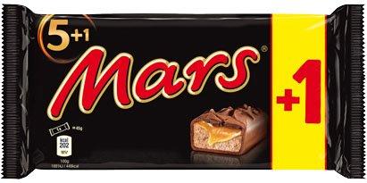 Mars,Twix oder Snickers Schokoriegel, je 6er-Pack(300g) für 0,99€ bei Kaufland (lokal-regional)