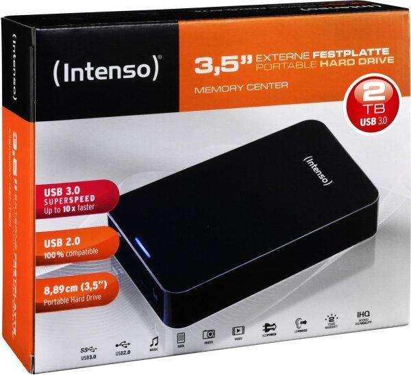 "[METRO ÖSTERREICH] INTENSO Externe 2TB Festplatte 3,5"" mit USB 3.0 Anschluss, 5400umin, 32MB Cache - Abholpreis 60 Euro"
