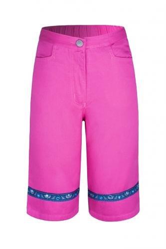 Brooker Kinder Capri-Hose Shorts für Mädchen Sommerhose Bermuda
