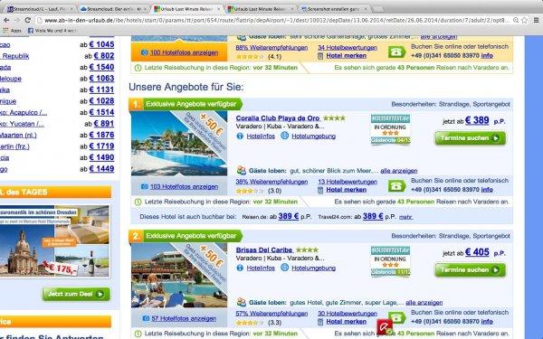 Last Minute 10 Tage Kuba mehrere Hotels (3-4 Sterne) All Inclusive inkl. Zug zum Flug ab 317 Euro!