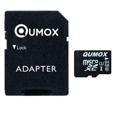 Micro SD Speicherkarte QUMOX 64GB (CLASS 10 UHS-I)