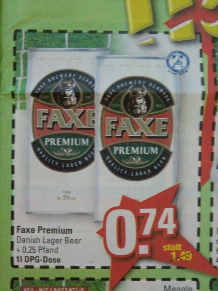 FAXE Premium 1-Liter-Dose --> LOKAL Marktkauf Löhne